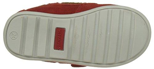 Garvalin Cancale, Chaussures Bateau Garçon Rouge (Rojo)
