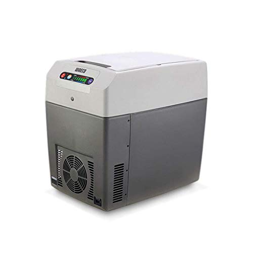 Ice Auto Kühlschrank Kleine Mini Kühl und Warm Box Schlafsaal Schnelle Gefriertruhe Outdoor Tragbare Auto/Home Dual-Use-Kühlschrank 12V24V220V, 21L Grau