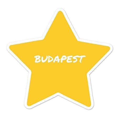 Preisvergleich Produktbild JOllify Aufkleber - BUDAPEST - Farbe: Design: Stern