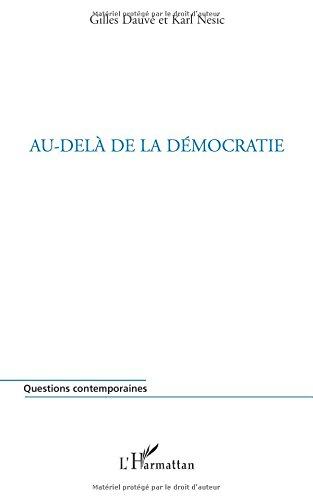 Au-delà de la démocratie