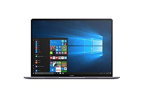 "Huawei Matebook X - Ordenador portátil Ultrafino de 13.3"" 2K IPS (Procesador Intel Core i5-7200U, 8 GB RAM, 256 GB SSD, Windows 10 Pro), Color Gris - Teclado QWERTY español"
