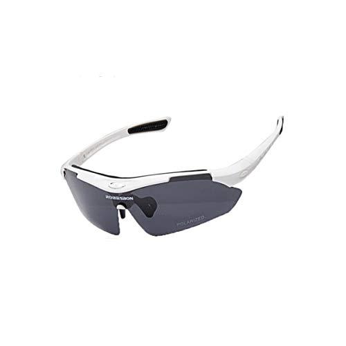 KEHUITONG Sonnenbrillen, Radsportbrillen, Winddichte Brillen, Fahrrad-Outdoor-Sportarten, HD Mountain Bike Night polarisierte Sonnenbrillen, hohe Qualität, Hohe Qualität - das Beste Ges
