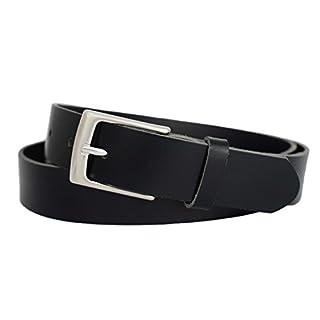 8d320fb8058d3d Anzuggürtel schwarz aus einem Stück Leder - Business Gürtel schwarz - Herren  Gürtel - Ledergürtel schwarz