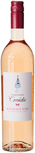Mademoiselle Comédie France Bordeaux Vin AOP 750 ml - Lot de 3