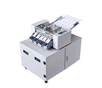 Modo de corte longitudinal: cocción a horno; Transverso: corte de corte largo transversal Alimentación automática de doble fricción. Tamaño de papel: A3+(480 × 320 mm); A3 (420 × 297 mm); A4 (297 × 210 mm). Grosor del papel: 0,25 mm (180 g/m2) ---0,3...