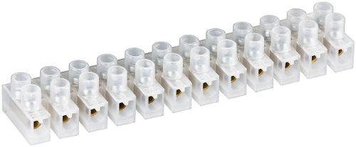 Preisvergleich Produktbild 10er Set fixpoint Lüsterklemme (12er,  4mm,  3A) weiß