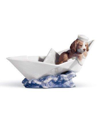 LITTLE STOWAWAY Lladro Porcelain
