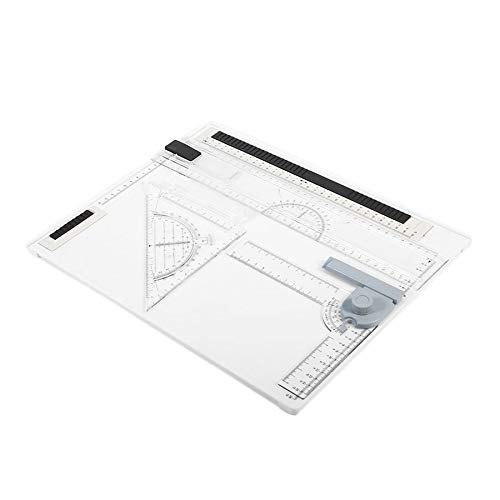 38 * 30cm A4 Drawing Board Office Graphic Design Work Drafting With Straightedge