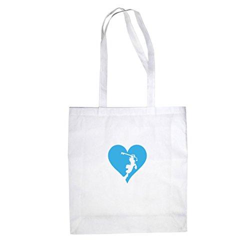Heart is a Kingdom - Stofftasche / Beutel Weiß