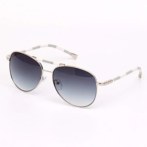 Easy Go Shopping Herren Sonnenbrillen Flieger Sonnenbrillen Polarisierte Sonnenbrillen für Frauen UV400 Schutz Metallrahmen gespiegelt Sonnenbrillen und Flacher Spiegel