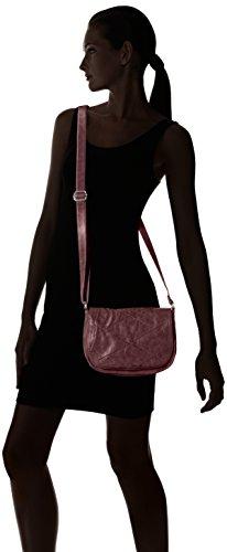 s.Oliver (Bags) 39.610.94.7595 Damen Umhängetaschen 24x17x8 cm (B x H x T) Violett (dark plum 3996)