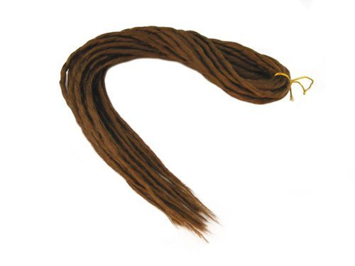 Elysee Star Dreads #30 Reddish Brown Dreadlocks Double Ended Synthetic Dread by Elysee Star
