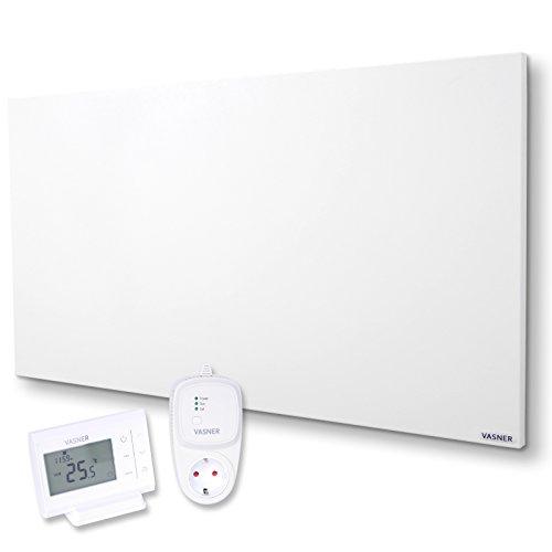 Infrarotheizung VASNER Citara M 900 Watt Metall mit VASNER Funk-Thermostat Set VFT35