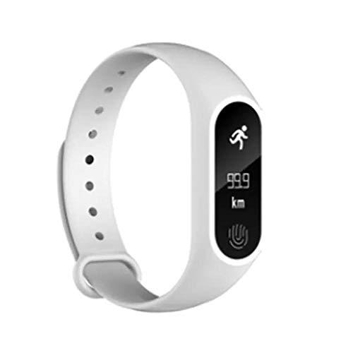 OPAKY Sport Schrittzähler Smart Armband Herzfrequenz Bluetooth 4.0 Smart Watch für Kinder, Damen, Männer