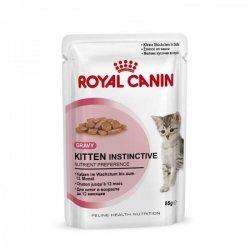 Royal Canin Frischebeutel Kitten Instinctive in Sosse Multipack 12x85g, Nassfutter, - Royal Canin Kitten Nassfutter