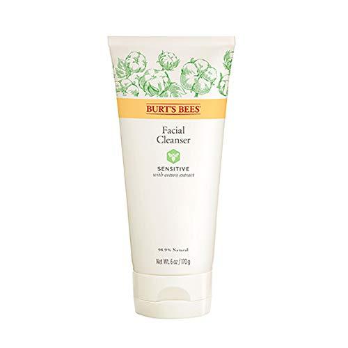 Burt's Bees Reinigungslotion für Empfindliche Haut mit Baumwollextrakt, 1er Pack (1 x 170 g) -