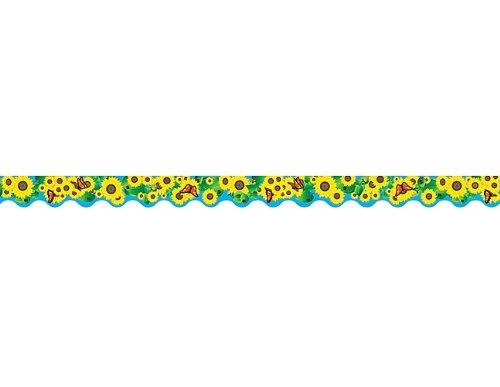 Teacher Created Ressourcen Sonnenblumen Grenze trim, Multi Farbe (4133) (Sonnenblume-grenze)