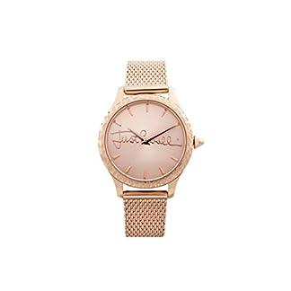 Just Cavalli Reloj Analógico para Mujer de Cuarzo con Correa en Acero Inoxidable JC1L023M0105