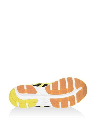 Asics Harandia, Chaussures Mixte Adulte Noir/jaune