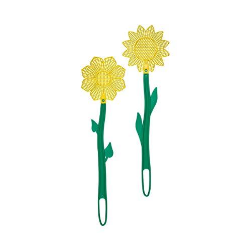 Unbekannt Fliegenklatsche Blume, 2 Stück