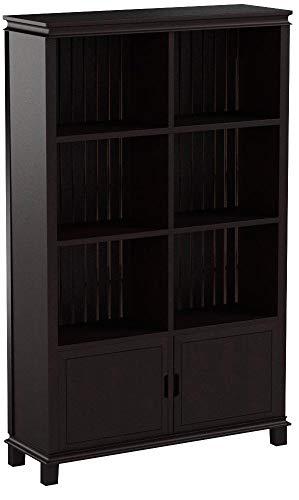 My-goodbuy24 Kommode mit 2 Türen Anrichte Regal Sideboard Mehrzweckkommode Standschrank/Kolonialstil MDF Holz - 97cm x 154cm x 32cm