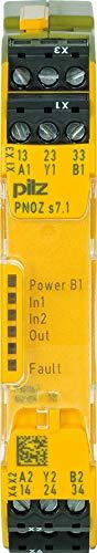 Pilz Kontakterweiterung PNOZ s7.1#750167 24VDC 3 n/o Cascade Gerät zur Überwachung von sicherheitsgerichteten Stromkreisen 4046548052503