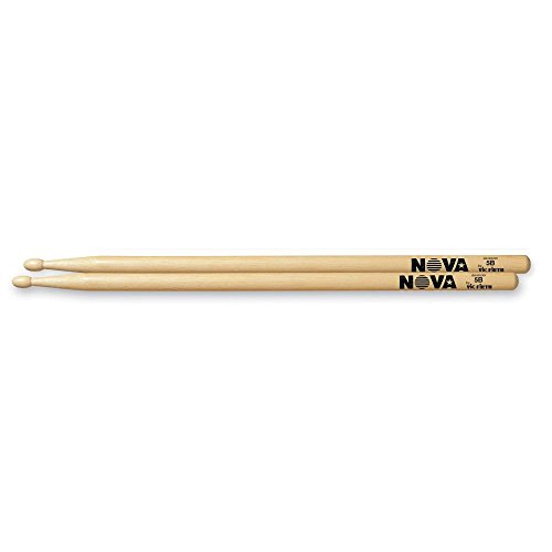 drumsticks 5b NOVA DRUM STICK 5B HICKORY WOOD-TIP
