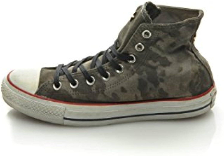 Converse Hightop Sneaker All Star Hi Canvas Studs Ltd Grau EU 40