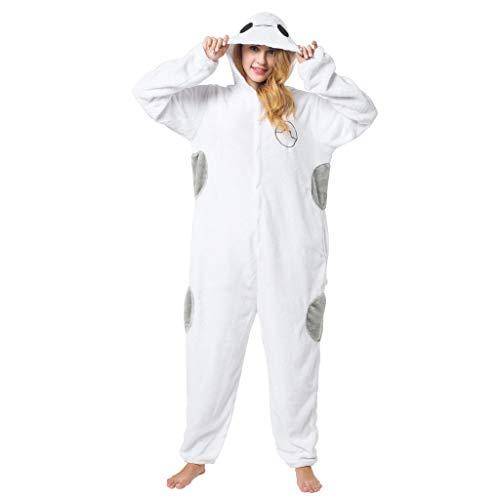 Carnival Spielanzug Kostüme Pyjamas Bekleidung Animal Erwachsene Unisex Schlafanzüge Karneval Onesies Cosplay Baymaxs Jumpsuits Anime Weihnachten Halloween Nachtwäsche Mädchen