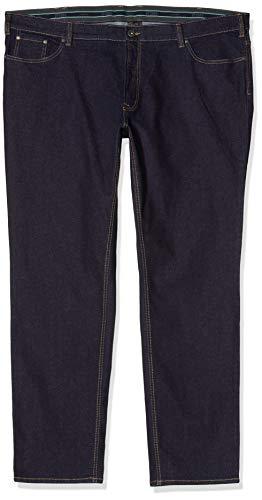 JP 1880 Herren große Größen bis 66, Jeans, Denim-Hose im 5-Pocket-Style, Stretch-Komfort, elastischer Bund & Regular Fit darkblue 64 708067 93-64