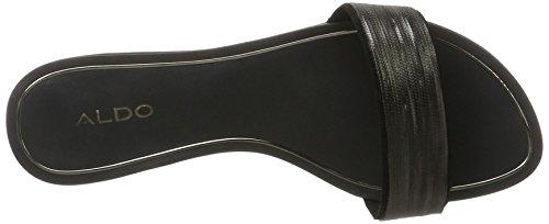 ALDO Damen Soffia Offene Sandalen mit Keilabsatz Schwarz (96 Black Synthetic)