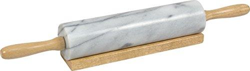 Nudelholz, Teigrolle Marmor 45cm
