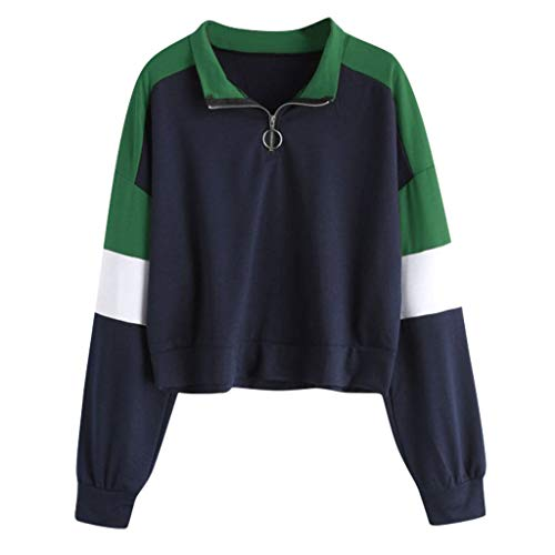 kolila Kapuzenpullover Herbst Winter Neueste Casual Damen Langarm Splice Hoodie Sweatshirt Cropped Tops Bluse Kapuzenpulli - Lurex Western Shirt