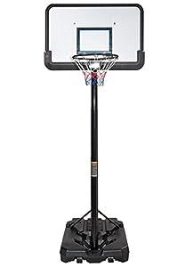 IUNNDS Pro Court höhenverstellbarer, tragbarer Basketballkorb und...