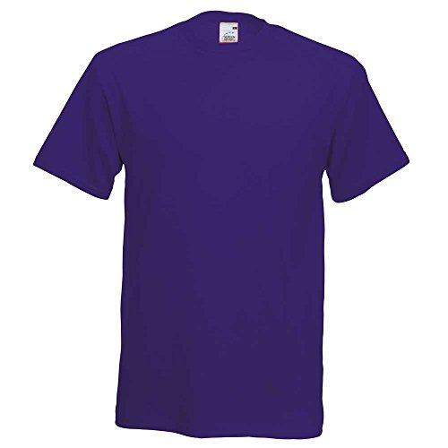 Fruit of the LoomHerren T-Shirt Purple