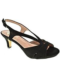 Zapato Fiesta - Mujer - Negro - destroy - 331840