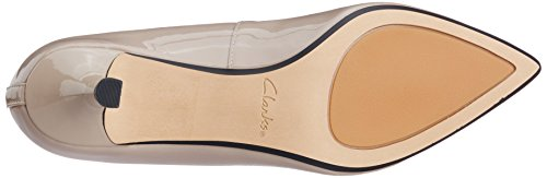 Clarks Aquifer Soda, Escarpins Femme, Lilas, Various Beige (Shingle Patent)