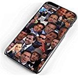 Michael Scott Collage iPhone Fall-Samsung Galaxy Fall, iPhone 6 Case Black