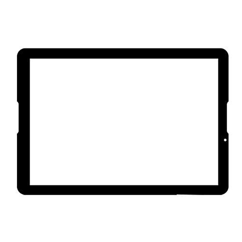 Blanc Couleur EUTOPING ® Nouveau 10.6 cm Contact écran digitizer Replacement pour Polaroid mids145pxe53.112