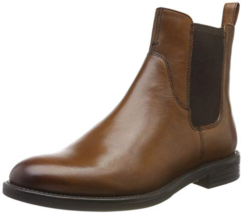 Vagabond Damen Amina Chelsea Boots, Braun (27 Cognac), 38 EU