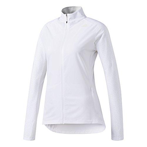 adidas Damen Supernova Storm Jacke, White, L (Frauen Hohe Sichtbarkeit Jacken)