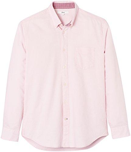 FIND Herren Jake Oxford Hemd Regular Fit Rosa (Pink)