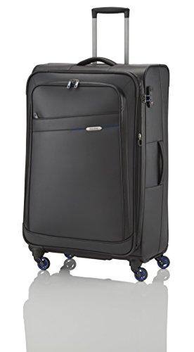 Travelite Scuba, maleta–, Solo 3,1kg, 79x 47x 32/36cm, 111/125L), color: negro