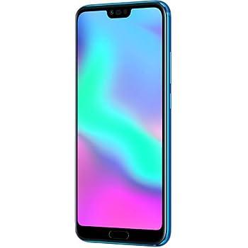 "Honor 10 Smartphone Blu, 4G LTE, Display 5.8"" FHD+, Kirin 970 Octa-Core, 4GB RAM, doppia fotocamera"