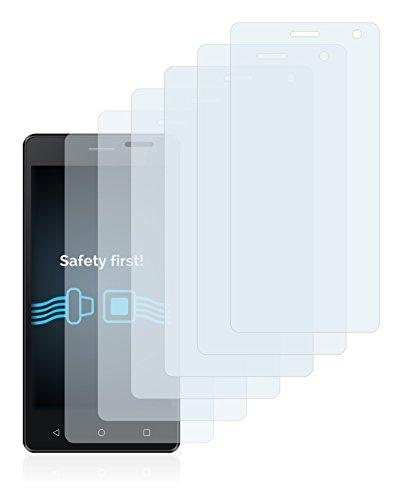 Savvies Schutzfolie für Archos 50d Neon [6er Pack] - klarer Displayschutz