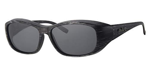 Fitsch Online UG Sonnenbrille für Brillenträger 100% UV CAT3 Modell2 polarisierende Überbrille