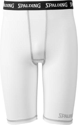 Spalding, Pantaloni & Pantaloni corti Funktions, Bianco (weiß), XXXXL