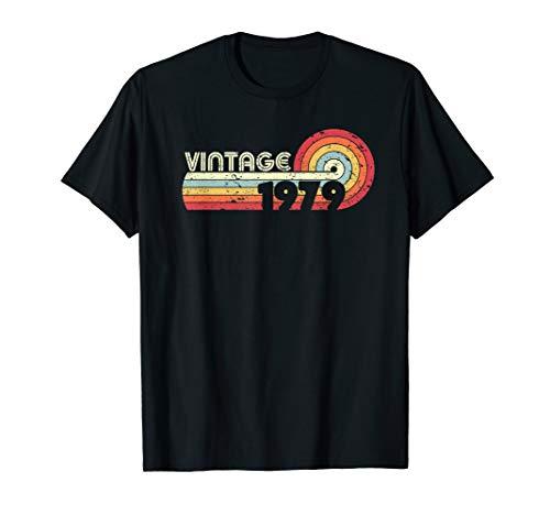 40. Geburtstag T Shirt. 1979 Jahrgang Shirt. Retro Vintage T-Shirt