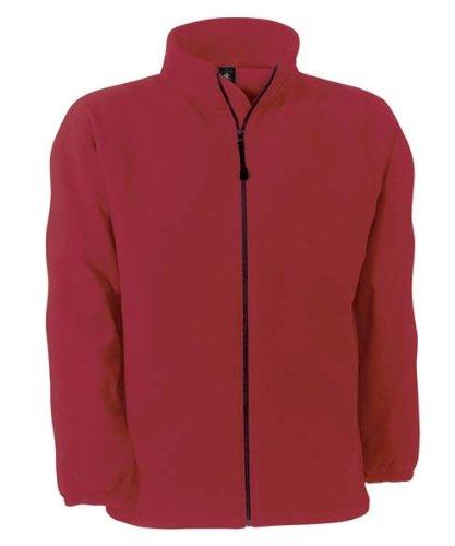 B c &veste en polaire respirante 'windProtek'windProtek fU749 Rouge - Rouge