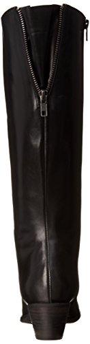 Fidji L792 Femmes Cuir Botte Black